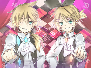 Rin and Len Kagamine Childish War