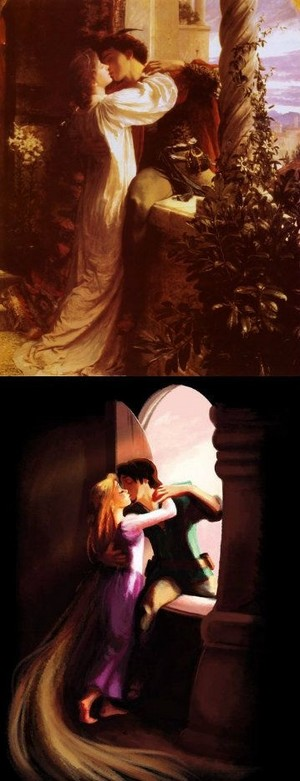 Romeo and Juliet - Flynn and Rapunzel
