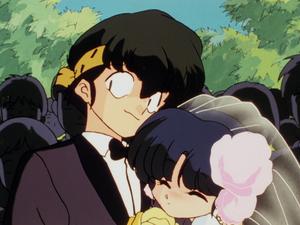 Ryoga and Akane らんま½ 良あ