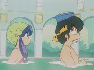 Ryoga and Shampoo らんま½ 良牙とシャンプー