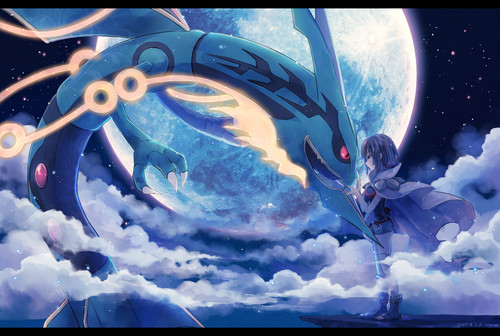 Legendary Pokemon wallpaper probably containing an igloo titled Ryquaza