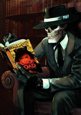 Skulduggery Pleasant fondo de pantalla possibly with a drawing room, a living room, and a lectern called SP...