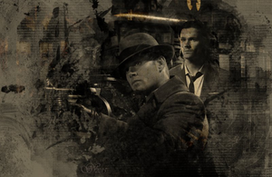 Sam/Dean wallpaper - New Bonnie And Clyde