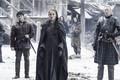 Sansa Stark, Podrick Payne and Brienne of Tarth - sansa-stark photo