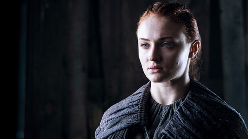 Sansa Stark Wallpaper Probably Containing A Pullover Titled Season 6