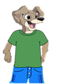 Scamp as a anthro