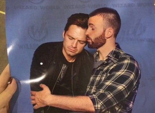 Chris Evans & Sebastian Stan 壁紙 entitled Sebastian and Chris