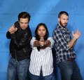 Sebastian and Chris with a Фан