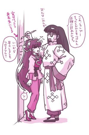 Shanpū and Mūsu らんま½ シャンプーとムース