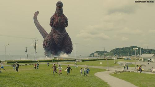 Godzilla 壁纸 entitled Shin Godzilla