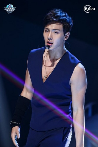 Monsta X wallpaper possibly with a concerto called Shownu