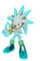 Silver the Hedgehog Renders Glowing by SEGA - silver-the-hedgehog photo