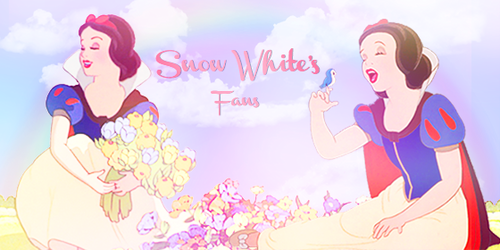Snow White and the Seven Dwarfs wallpaper with anime titled Snow White's Fans