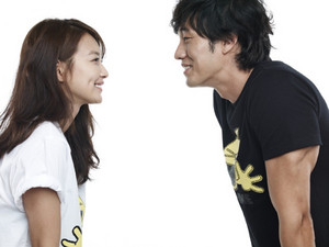 So Ji Sub and Shin Min Ah