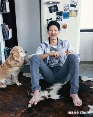 Song Joong Ki for 'Marie Claire'