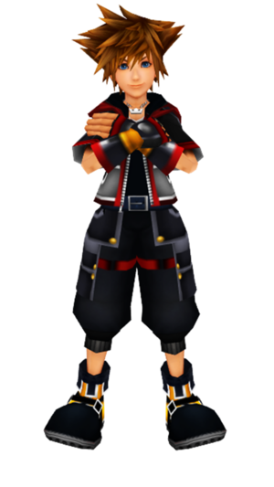 Sora Kingdom Hearts III.. The Main Character.