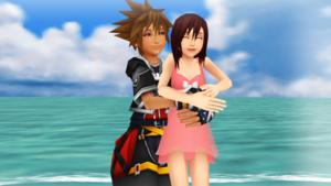 Sora and Kairi Summer cœur, coeur and Healing..