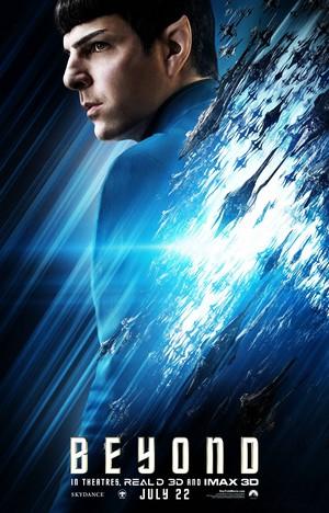 سٹار, ستارہ Trek Beyond characters poster