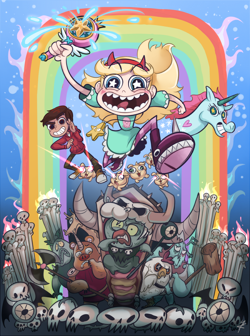 звезда vs. The Forces of Evil