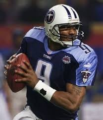 NFL 壁紙 probably with a テイルバック, テールバック, 渋滞 called Steve McNair