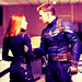 Steve Rogers and Natasha Romanoff  - marvel-comics icon