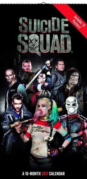 Suicide Squad - 2017 Mini Poster Calendar - Cover