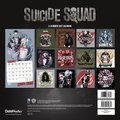 Suicide Squad - 2017 Wall Calendar - Back
