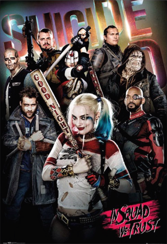 Suicide Squad wallpaper titled Suicide Squad - Group Poster