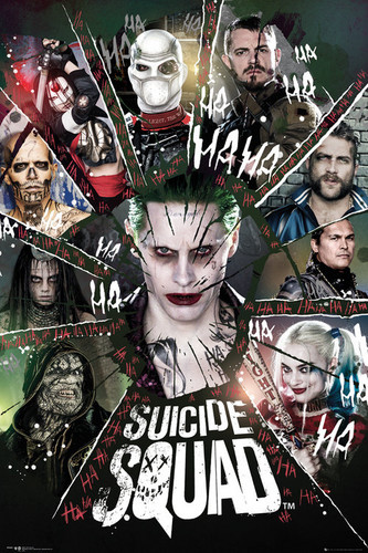 Suicide Squad wallpaper entitled Suicide Squad - Group Poster