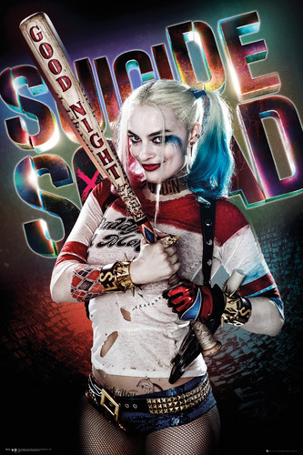 Suicide Squad 壁纸 called Suicide Squad - Harley Quinn Poster