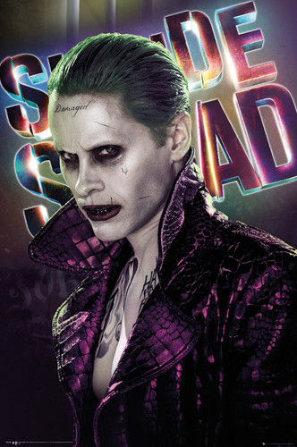Suicide Squad wallpaper entitled Suicide Squad - The Joker Poster