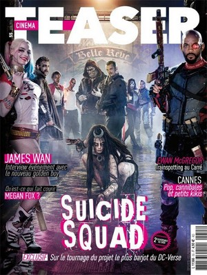 Suicide Squad's Cinema Teaser Cover - June 2016