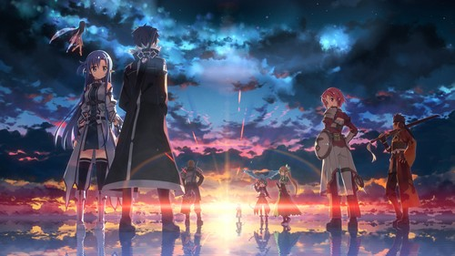 Sword Art Online wallpaper probably with a concert and a fountain titled Sword Art Online