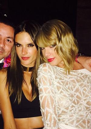Taylor and Alessandra Ambrosio