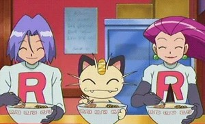 Team Rocket having some food