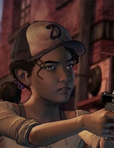 《行尸走肉》 壁纸 with a 步枪兵, 步枪手 entitled Telltale Games The Walking Dead season 3 - Clementine