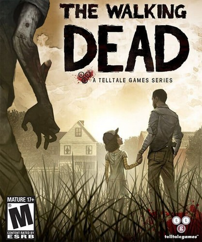 Walking Dead fond d'écran containing animé titled Telltale Games' The Walking Dead