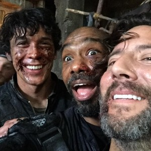 The 100 S3 On the Set