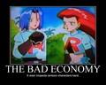 The Bad Economy - pokemon fan art