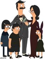 The Belcher Family as The Addams Family