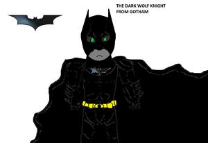 The Dark wolf knight