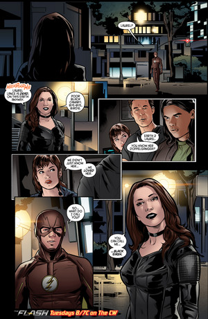 The Flash - Episode 2.22 - Invincible - Comic 预览