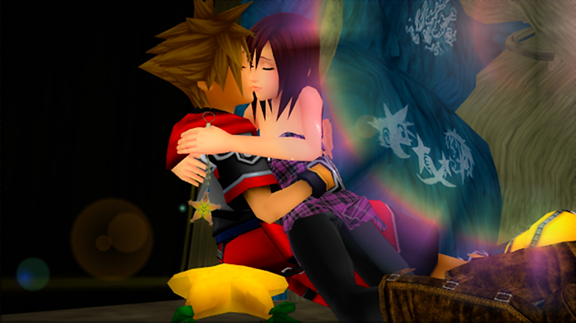 The Last of Sora and Kairi Intertwine  Light Shine