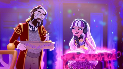Ever After High wallpaper with a concerto titled The Pied Piper and Melody Piper