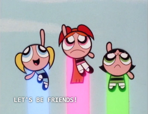 The Powerpuff Girls