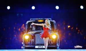 The Spice Girls @ The London 2012 Olympics Closing Ceremony