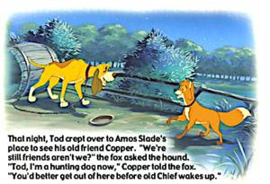 The fox, mbweha and the hound book