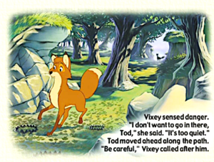 The cáo, fox and the hound book
