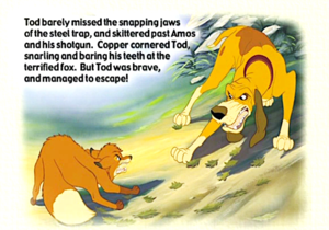 The rubah, fox and the hound book