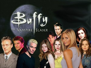 The full cast of Buffy the Vampire Slayer